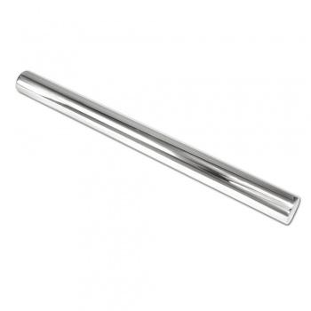 "Stainless Steel Rolling Pin Rod, 14"" x 2"" diameter"