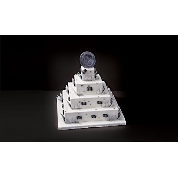 Matfer Bourgeat French Style Wedding Cake Complete Kit Square
