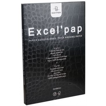 "Matfer Bourgeat ""Excel'Pap"" Baking Paper 23 3/4"" X 15 3/4"" (45 g/m²)"