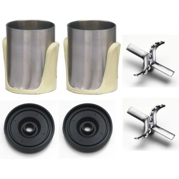 Nemox Frix Air Accessories Set Includes: 2 S/S Bowl Holders + 2 gaskets + 2 s/s blades