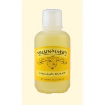 Nielsen Massey Pure Lemon Extract 4Oz.