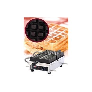 """Krampouz Belgian Waffle Maker - 4 x 6 Bruxelles (120V) """"WECDBAAS"""""""