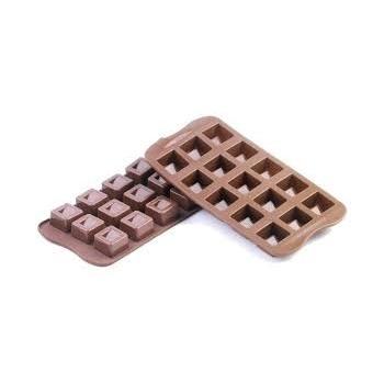 Silikomart Silicone Chocolate Mold Cubo - 26 x 26 h 18 mm