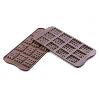 Silikomart Silicone Chocolate Mold Mini Tablets 38x28x4,5 mm
