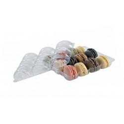 Rectangular Insert For 9 Macarons (3'' x 3)  6.3'' x 4.3'' x 0.8?? - 150pcs