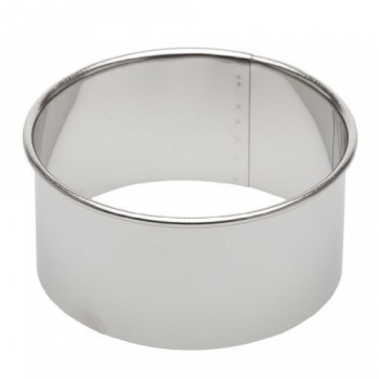 Ateco Stainless Steel Round Plain Pastry Cutter