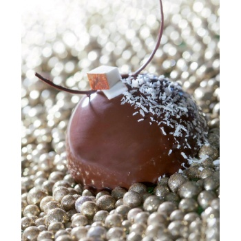 Sasa Demarle Half Sphere Domes Flexipan Molds 2.75'' diam. (7cm)