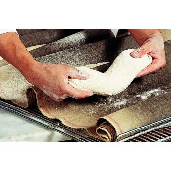 Matfer Bourgeat Dough Fermentation Cloth - 100% Natural Linen - 21 7/8 Yard Roll.
