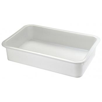 "Matfer Bourgeat Rectangular Dough Container - 20 7/8"" - 16 1/8""- 3 1/8"" -  Capacity 10L/10.5Qts"