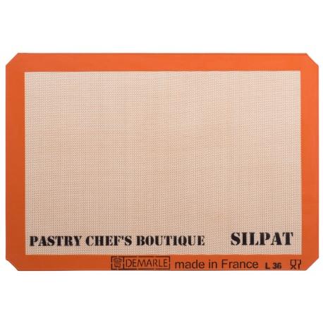 Sasa Demarle Silpat Premium Silicone Liner US Big Sheet Pan Size (2/3 Sheet Pan), 13.58''x 19.5'' for a 15''x21'' Sheet Pan.
