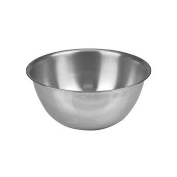 Stainless Steel Deep Mixing Bowls 6.25Qt Capacity