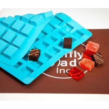 Truffly Made -  Cube Chocolate Truffle Ganache  Molds (24g)
