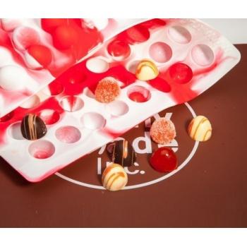 Truffly Made - Dome  Chocolate Truffle Ganache  Molds