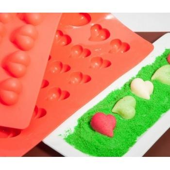 Truffly Made - Heart  Chocolate Truffle Ganache  Molds (12g)