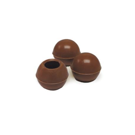 Belgian Chocolate Cups - Truffle Shells Milk Ø25Mm - 504 Pces