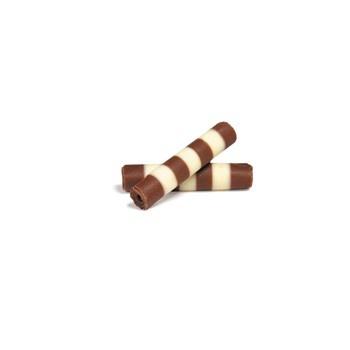 Belgian Chocolate Sticks - Mistral Duo 40Mm - 5.5Lb