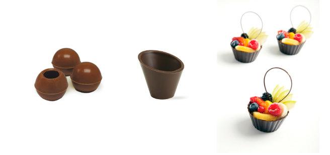 Chocolate Shells and Truffle shells