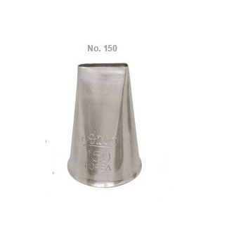 Ateco 150 - Ribbon Pastry Tip - Stainless Steel