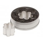 Ateco Plain Daisy Stainless Steel Cookie Cutter Set - 6pcs