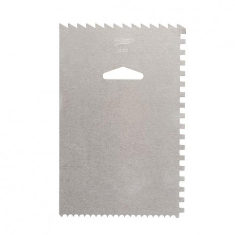 Ateco Stainless Steel Decorating Comb & Icing Smoother