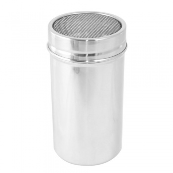 Stainless Steel Mesh Sifter/Dredger, 16 oz capacity