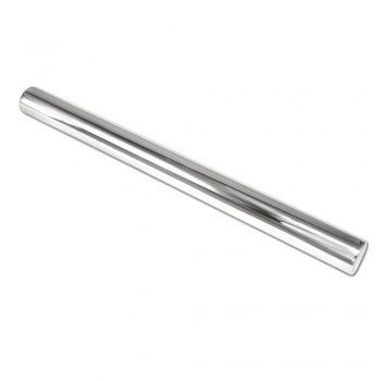 "Stainless Steel Rolling Pin Rod, 14"" x 2"" diameter"