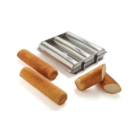 """Matfer Bourgeat Triple Round Bread Mold 2 3/4"""""""
