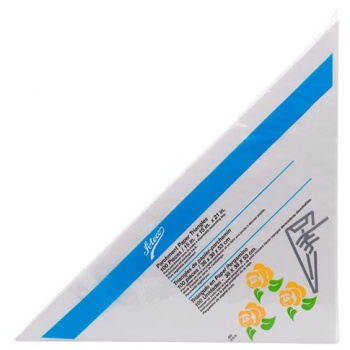 "Ateco Large Parchment Triangles 18"" (Box Of 500)"