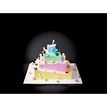 Matfer Bourgeat French Style Wedding Cake Complete Kit Deconstructed