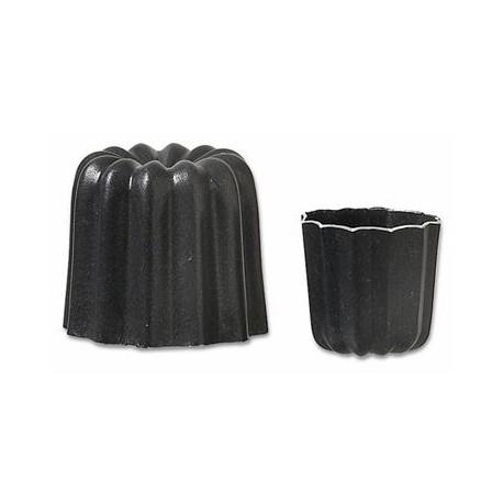 Matfer Bourgeat Aluminum Non-Stick Cannele Mold - Pack Of 6