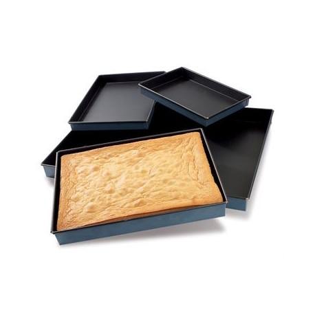 """Matfer Bourgeat Steel Non-Stick Sponge Cake Pan 15 3/4"""" X 11 7/8"""""""