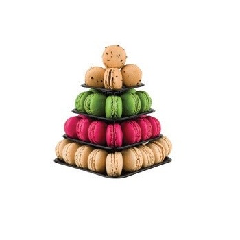 Macarons Mini Pyramid Display - Holds 48 Macarons