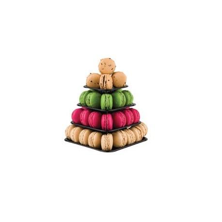 Macarons Mini Pyramid Display - Holds 48 Macarons