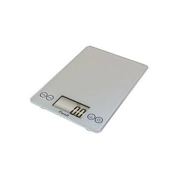 Escali Arti Glass Digital Scale, 15 Lb / 7 Kg,
