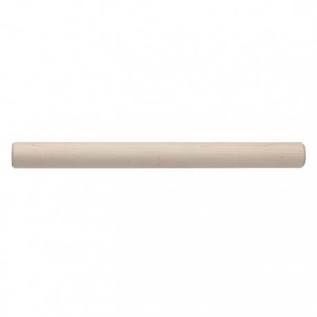 "Maple Wood Rolling Pin 19"" x 1.75''"