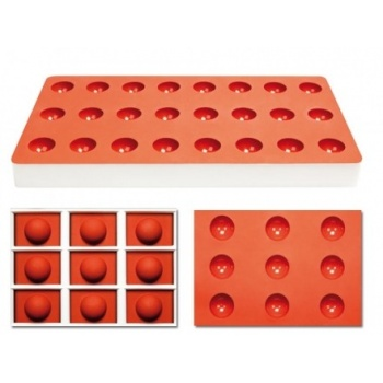 Pavoni Silicone Candy Mold 24 Cavity - TG1002