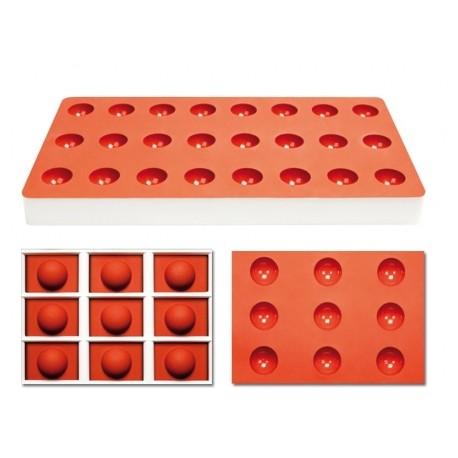 Pavoni Tg1002 Pavoni Silicone Candy Mold 24 Cavity Tg1002