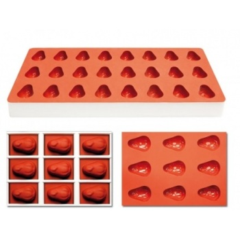 Pavoni Silicone Candy Mold 24 Cavity - Pears- TG1021