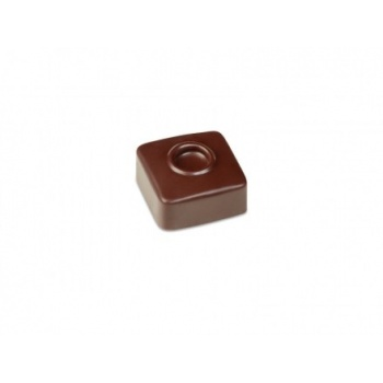 Polycarbonate Chocolate Molds - Artisanal  Square Dot 21 pralines. 10 gr ca. Mould 275x135 mm