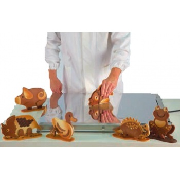 Heated Table for Chocolate Work