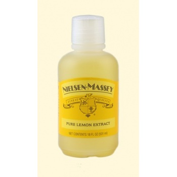 Nielsen Massey Pure Lemon Extract 4Oz.