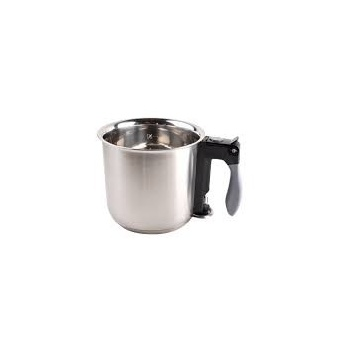De Buyer Double boiler «Bain marie» with Silicone handle - 1.6qt