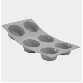 De Buyer Silicone Molds ELASTOMOULE  - Muffins Molds - 4 cavities