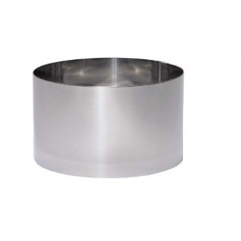 De Buyer Stainless Steel High Bread Round Ring for Pain Surprise Ø20 cm - 7 7/8''