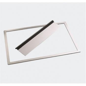 "De Buyer Stainless Steel ""Joconde"" Biscuit Frame 570 X 370 Mmx3Mm"