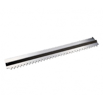 De Buyer Stainless Steel Charlotte Comb - 2 Sides - 16.8""