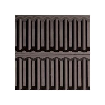 """Sasa Demarle 3D Dessert Mats - Straight Flutes - TF0160 16"""" x 24"""" (400 x 600 mm)"""