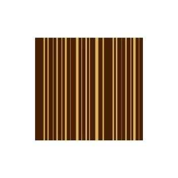 Chocolate Transfer Sheets 12'' x 15.5'' - Linear - Pack of 15 Sheets