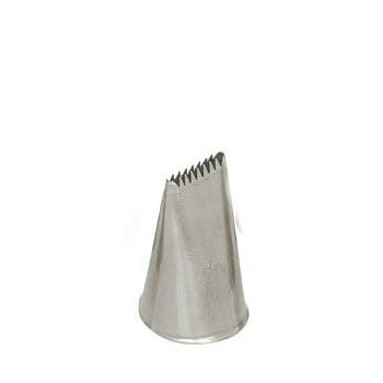 Ateco 48' - Ribbon Pastry Tip - Stainless Steel