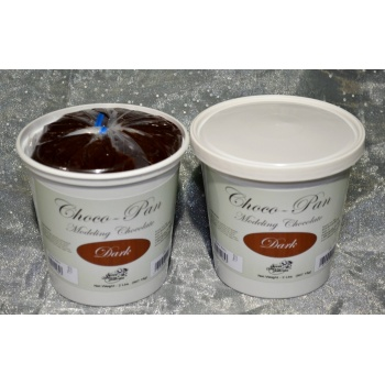 Choco-Pan Modeling Chocolate - 2Lb. Pail - Dark Chocolate